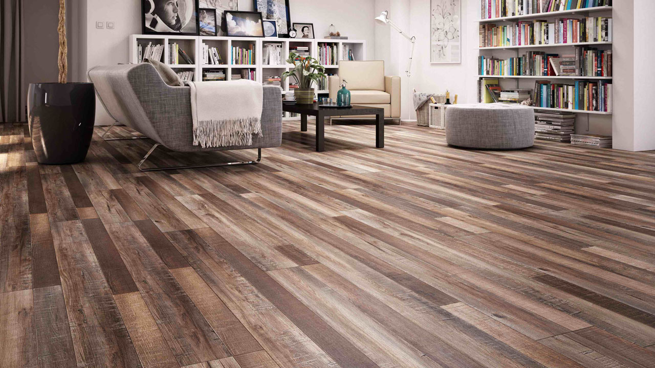 Maple wood flooring - kub studio project in 3D modeling