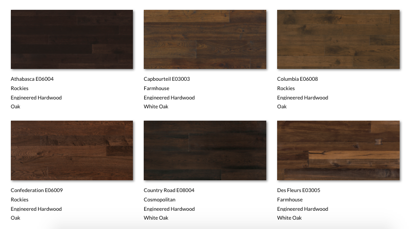 Photography studio for texture swatch_Wood Floors