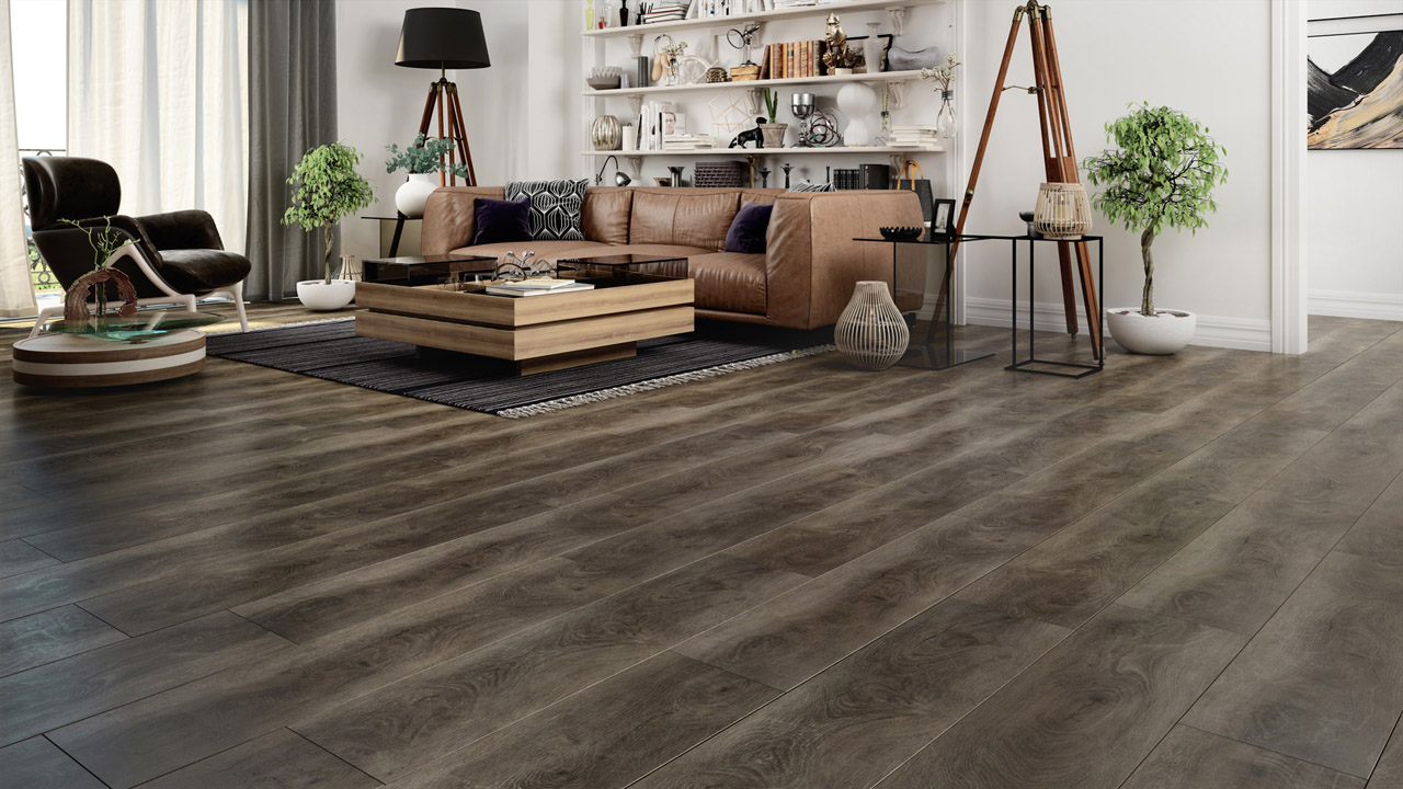 Wooden floors kub studio example in 3D
