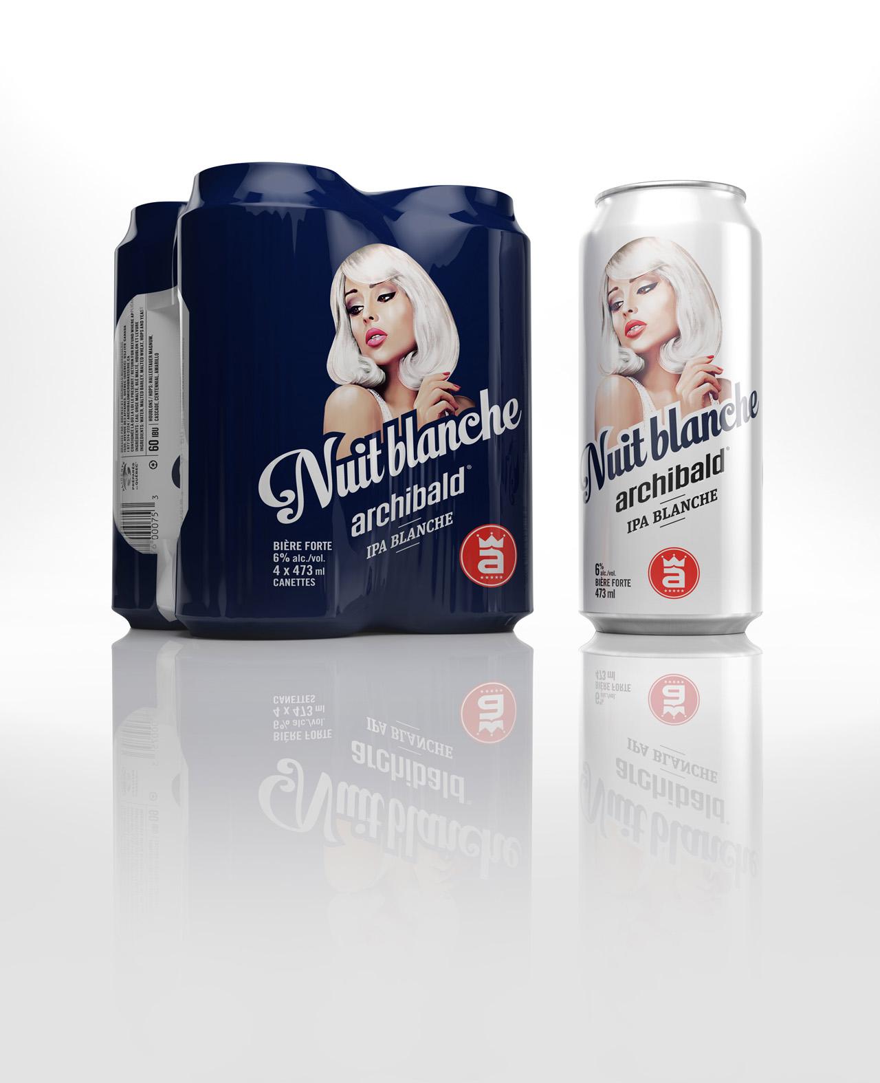 3D_rendering for beer packaging - kubstudio creation