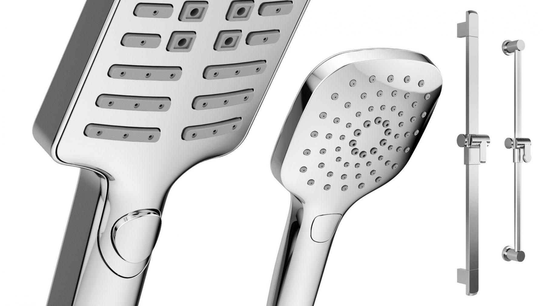 3d-visualization-firms-chrome-shower-bar
