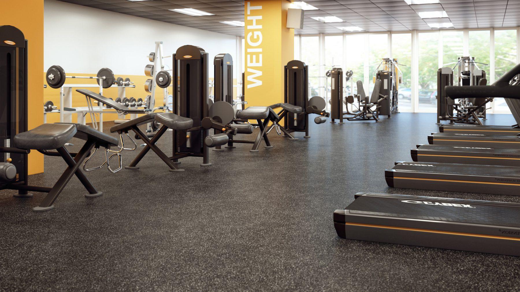 designer-3d-gym-photorealiste-jaune-plancher
