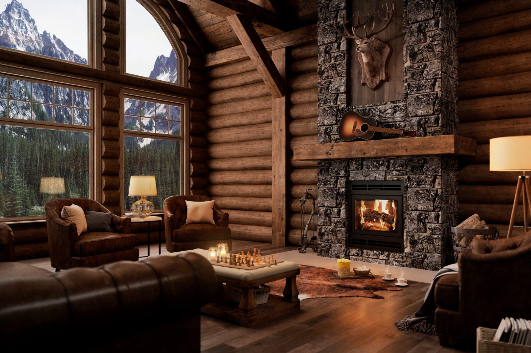 interior-previz-fireplace-living-room- canada 3d studio