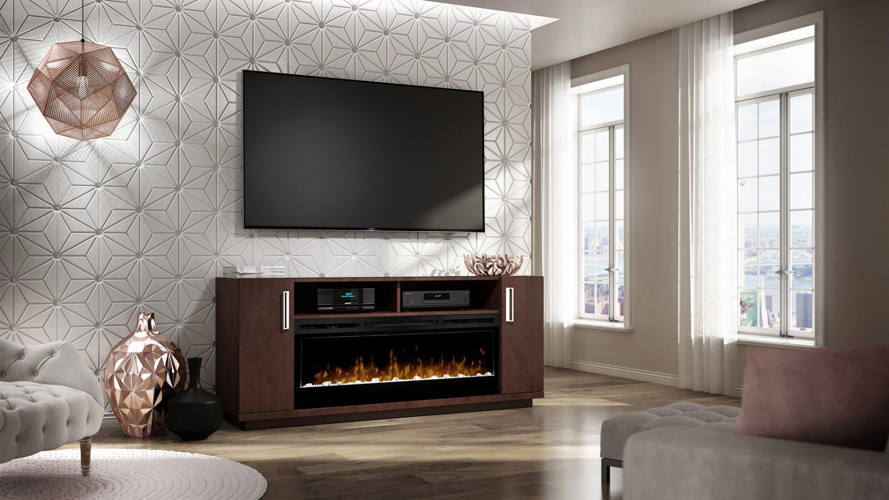 3d imagery geometric modern sitting room