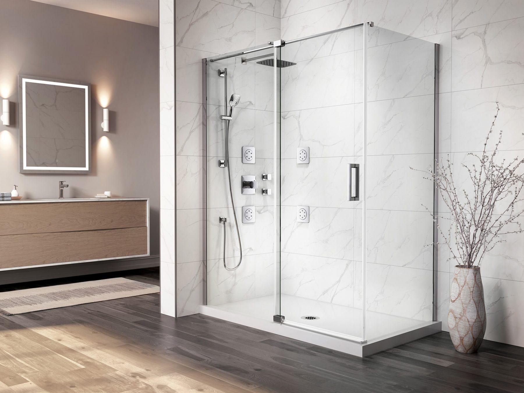 3d-glass-shower-door-marble-wall-classic-bathroom