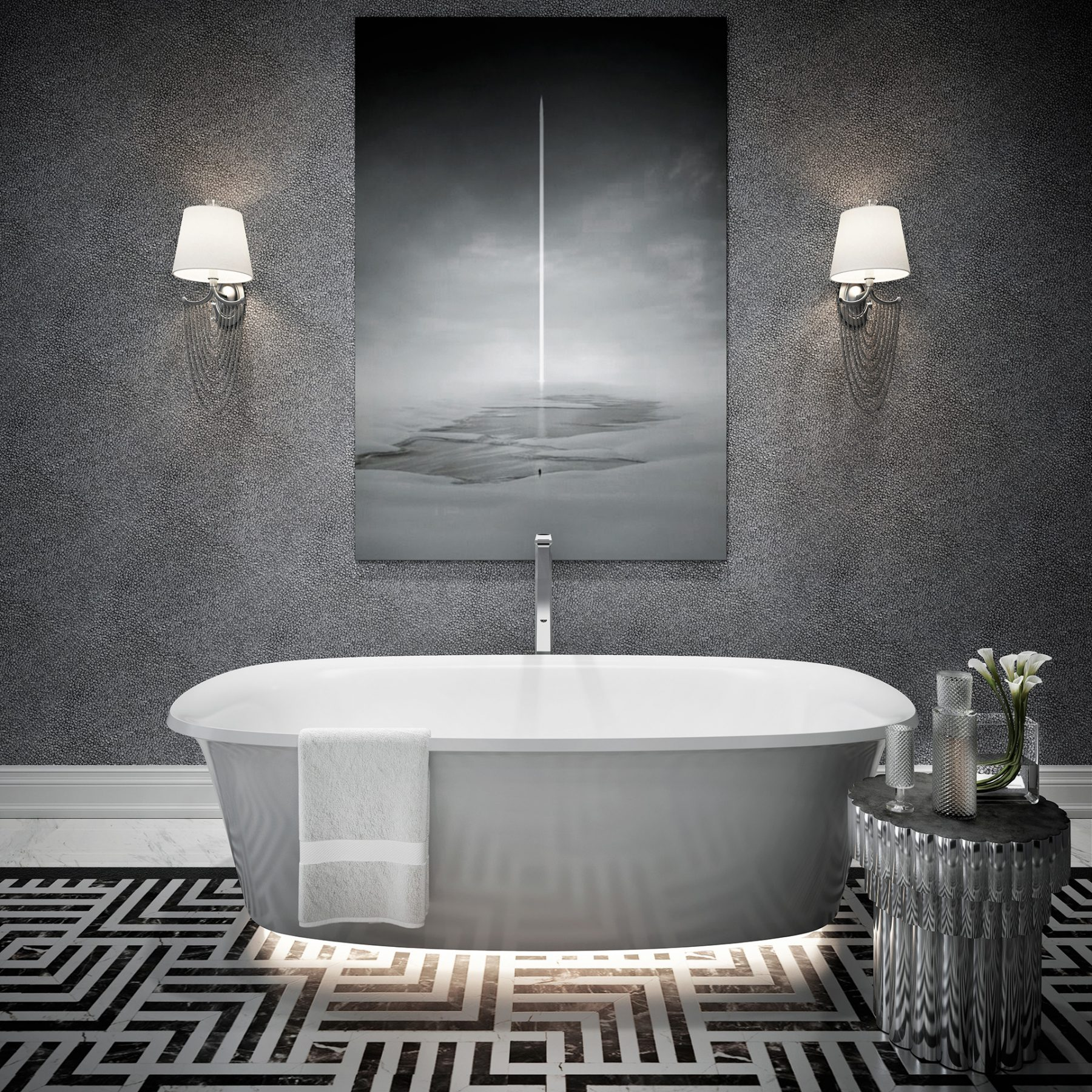 3d-services-free-black-and-white-bath