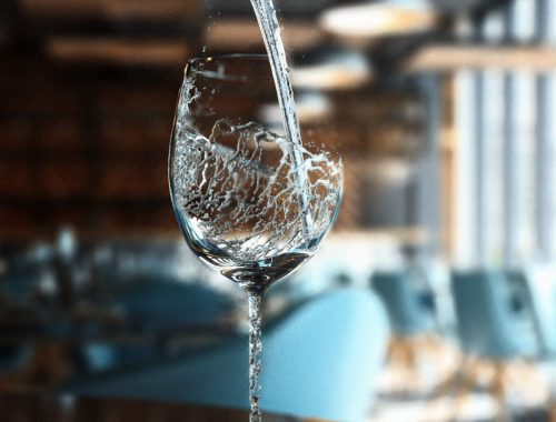 The Water Glass : An Original Creation