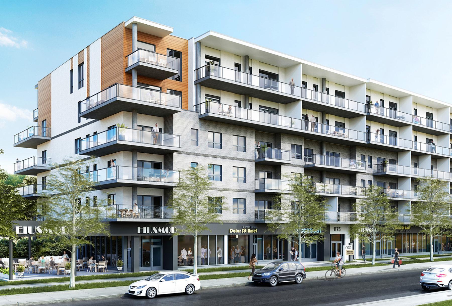principale logisco projet résidentiel ambiance 3d architecture firme digitale