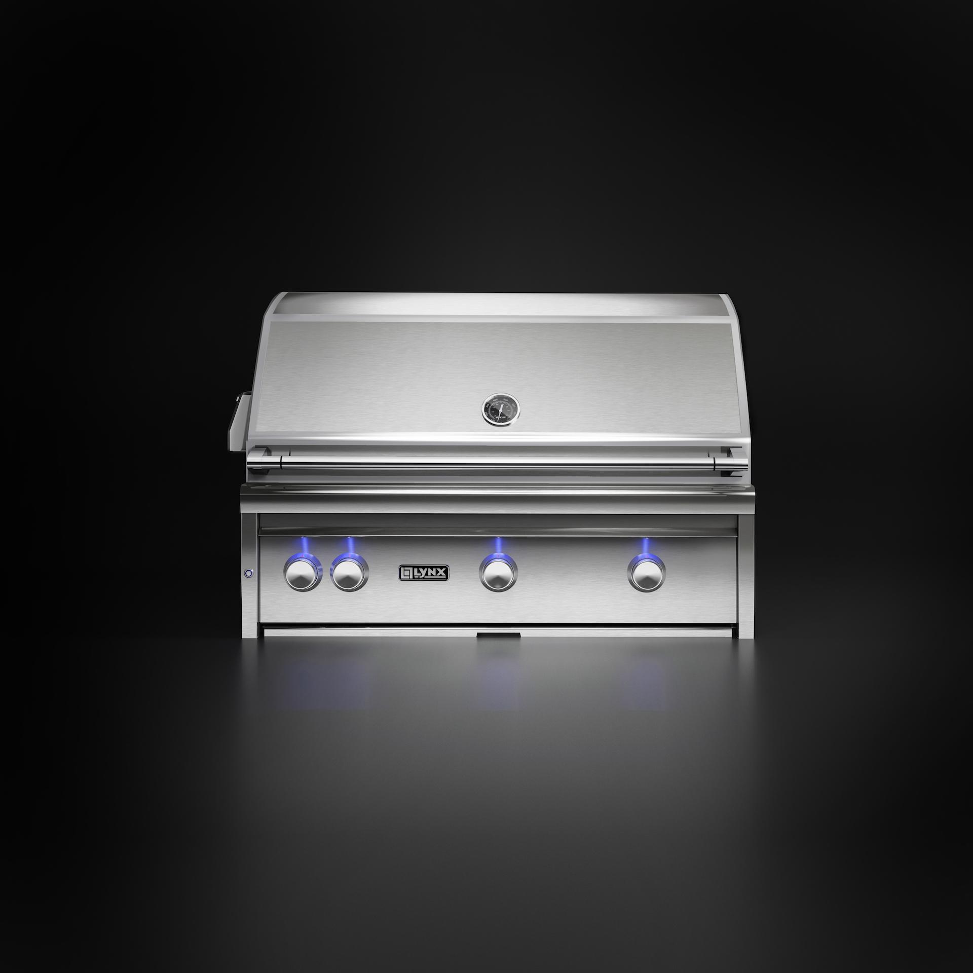 Kub Studio produit des images 3D sur fond neutre comme ce BBQ sur fond noir
